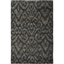 "Thompson Ikat Midnight Slate - Rectangle - 3'6"" x 5'6"""