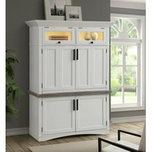 See Details - AMERICANA MODERN - COTTON Workstation with LED Light