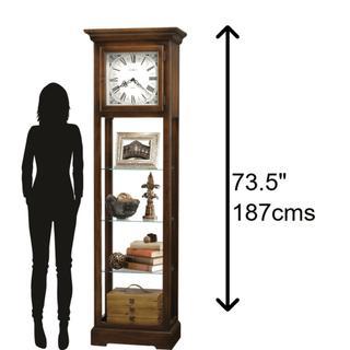 See Details - Howard Miller Le Rose Grandfather Clock 611148
