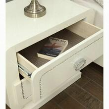 ACME Bellagio Nightstand - 20393 - Ivory High Gloss