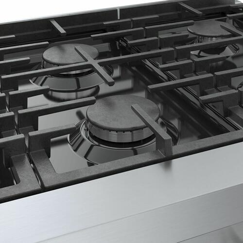 800 Series Gas Rangetop 36'' Stainless steel RGM8658UC