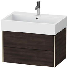 View Product - Vanity Unit Wall-mounted, Chestnut Dark (decor)