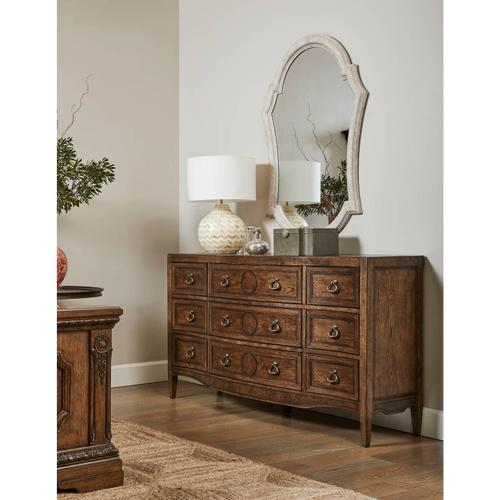 Thoroughbred Canterbury Dresser - Toast