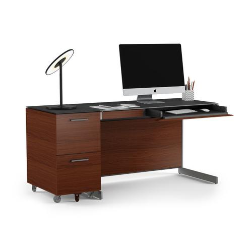 Compact Desk 6003 in Chocolate Stained Walnut