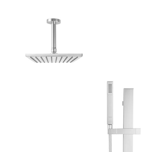 6 Inch Ceiling Mount Shower Arm - Polished Chrome