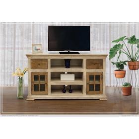See Details - 2 Drawer, 2 Doors & 3 Shelves TV Stand