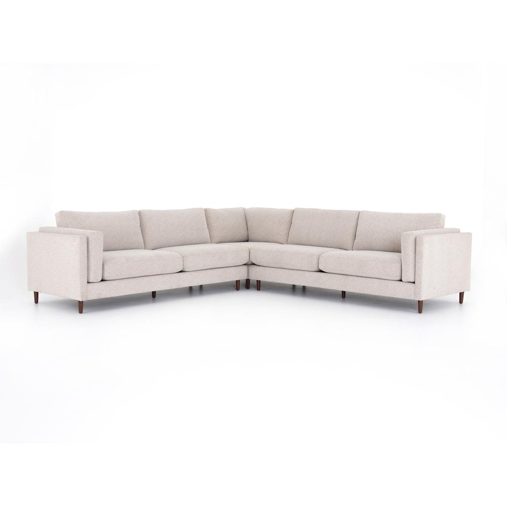 Elijah 3 PC Sectional-clancy Beige