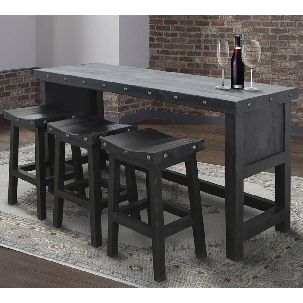 See Details - DURANGO Everywhere Console with 3 Stools