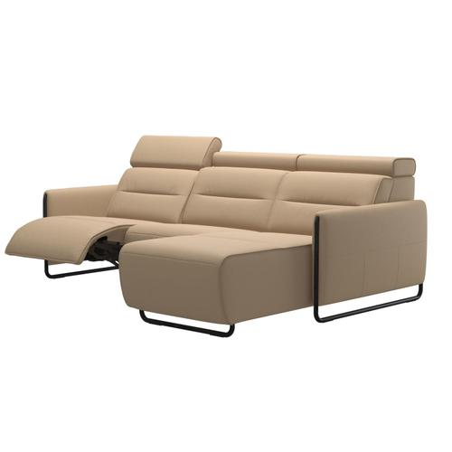 Stressless By Ekornes - Stressless® Emily 2 seater Long Seat with left motor arm steel