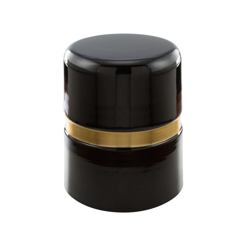 Density Side Table Black And Gold