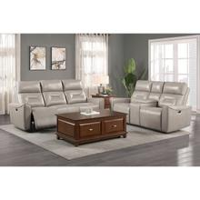 See Details - Power Double Reclining Sofa and Love Seat with Center Console and USB ports