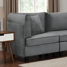 See Details - Sandrine Corner Chair