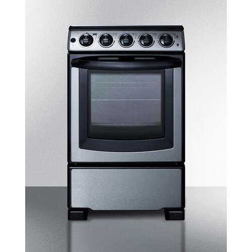 "20"" Wide Electric Smooth-top Range"
