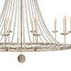 See Details - Naples Large White Chandelier