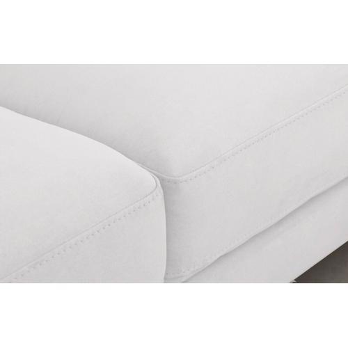 VIG Furniture - Divani Casa Paraiso - Modern White Fabric Left Facing Sectional Sofa