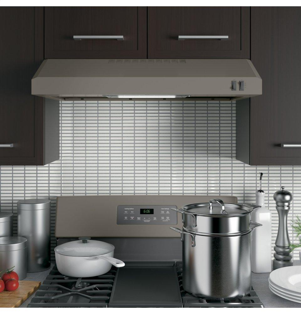 """GE® 30"""" Under The Cabinet Hood Photo #5"""