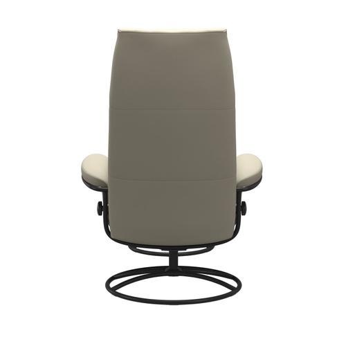 Stressless By Ekornes - Stressless® Metro Original High back Chair with Ottoman