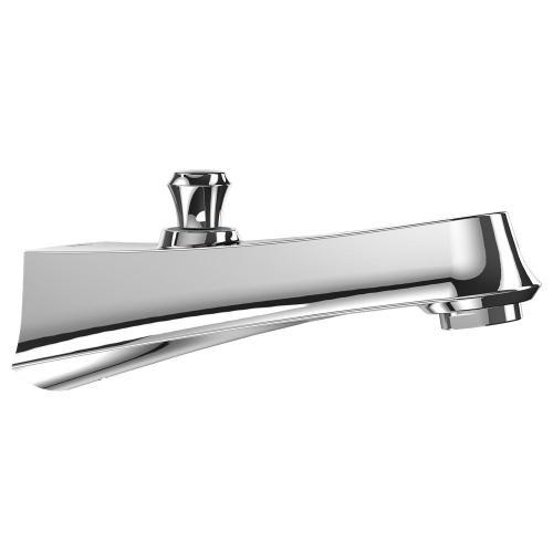 Wyeth™ Diverter Wall Spout - Polished Chrome Finish