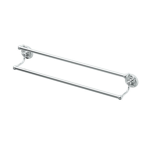 Designer II Double Towel Bar in Chrome