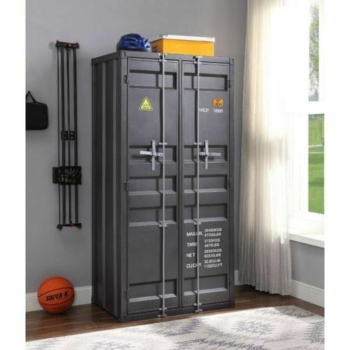 ACME Cargo Wardrobe (Double Door) - 37899 - Gunmetal