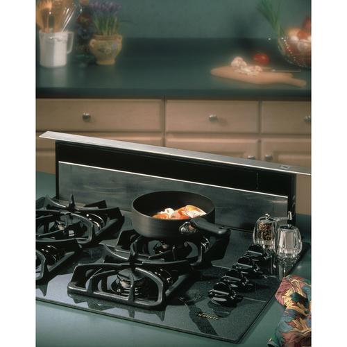 Broan® 30-Inch Downdraft Range Hood, 500 CFM, Stainless Steel Cover