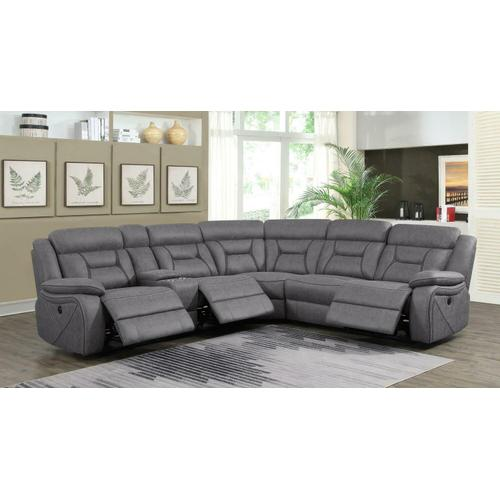Coaster - 4 PC Power Sectional