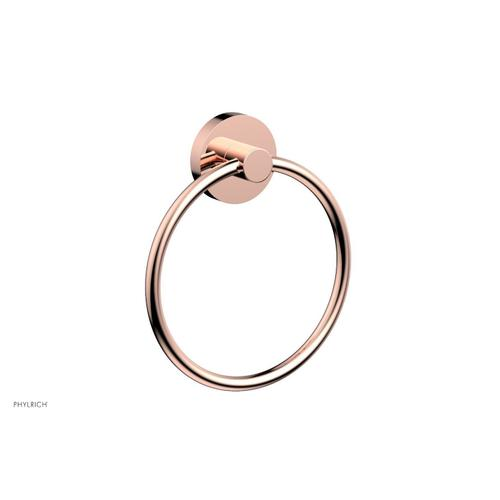 BASIC & BASIC II Towel Ring DB40 - Polished Copper
