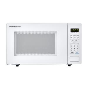 Sharp Appliances1.1 cu. ft. 1000W Sharp Countertop White Microwave