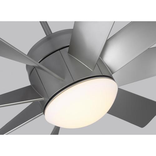"""56"""" Turbine LED - Painted Brushed Steel"""