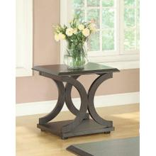 See Details - Casual Cappuccino End Table