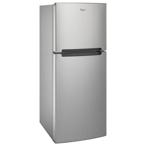 25-inch Wide Top Freezer Refrigerator - 11 cu. ft. Monochromatic Stainless Steel
