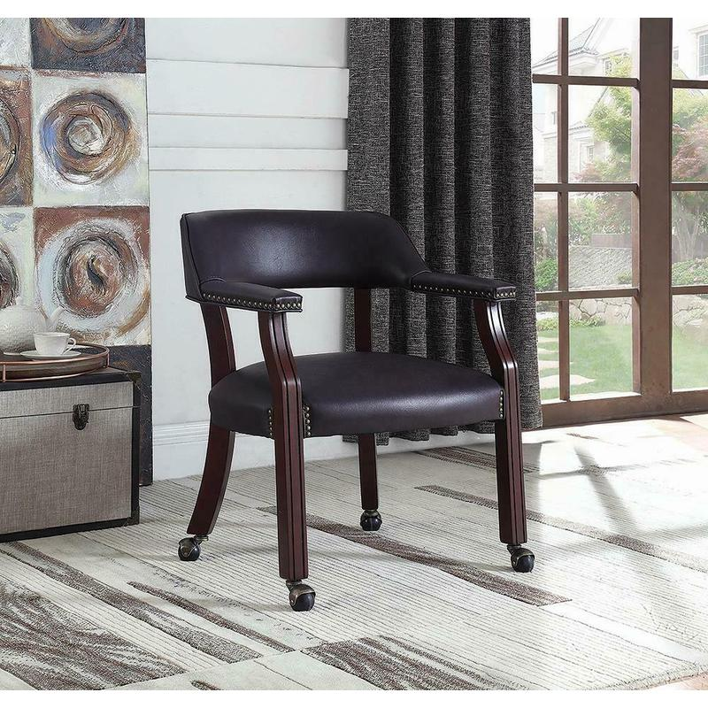 View Product - Modern Burgundy Office Chair
