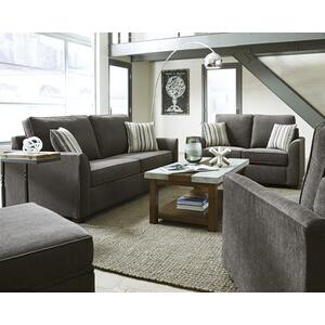 Loveseat - Shown in 112-17 Charcoal Chenille Finish