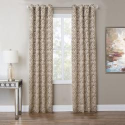Batavia 50x96 Grommet Top Panel Weighted Corners Taupe