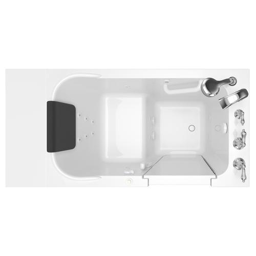 Premium Series 28x48 Whirlpool Walk-in Tub  Right Drain  American Standard - White