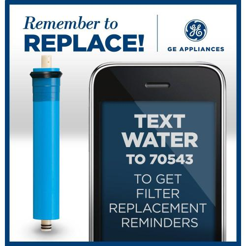 GE Appliances - Replacement Membrane Filter - Reverse Osmosis System
