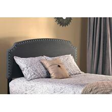 Lani Headboard With Frame - King - Dark Linen Gray