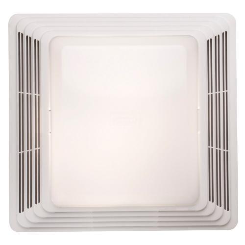 Broan - Broan® Bathroom Exhaust Fan Grille/Cover w/ 100w Light