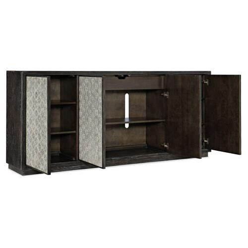 Living Room Melange Greystone Four-Door Credenza