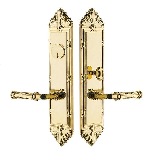 Non-Lacquered Brass Fenwick Entrance Trim