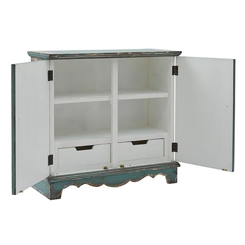 Credenza/Console Cabinet - A796 Zesty Green Finish