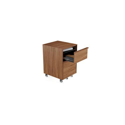 Mobile File Pedestal 6207 in Natural Walnut