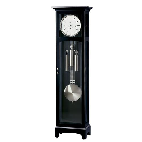 Howard Miller Urban Floor III Black Floor Clock 660125