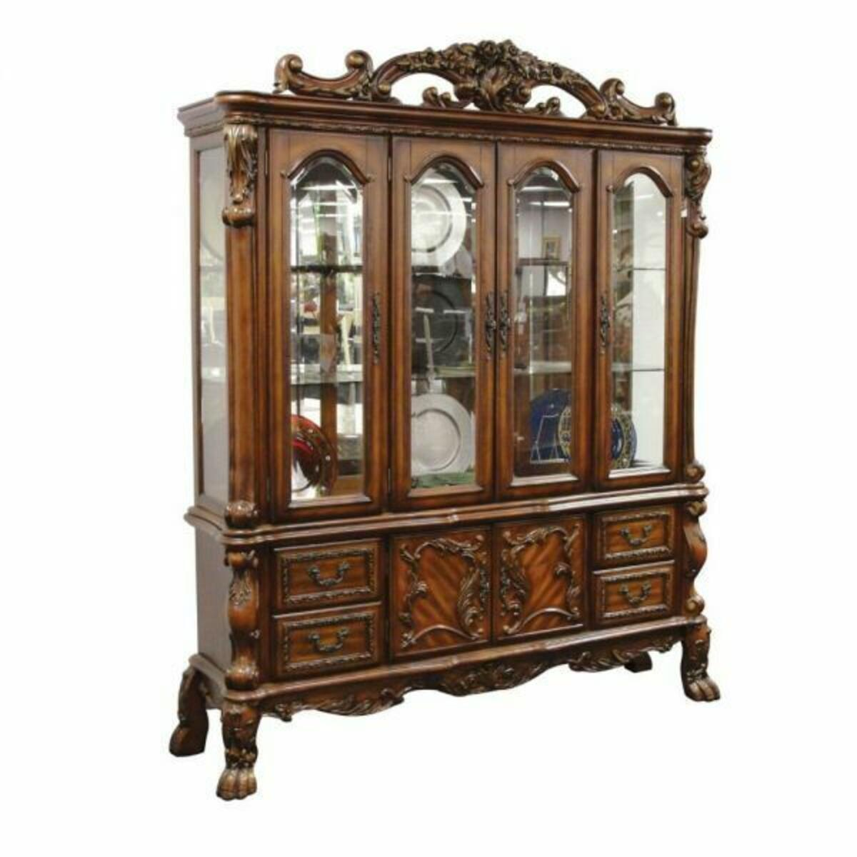 ACME Dresden Hutch & Buffet - 12155 - Cherry Oak