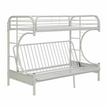 ACME Eclipse Twin XL/Queen/Futon Bunk Bed - 02093WH - White