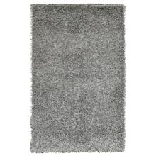 View Product - Damroo Shag Silver/Black 3.5x5.5