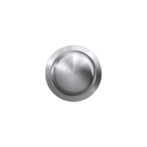 Custom Plymouth Non-Turning Knob with Kinsler Trim - Satin Chrome