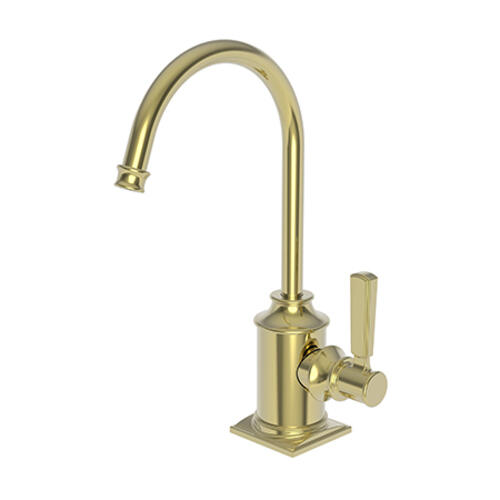 Newport Brass - Uncoated Polished Brass - Living Cold Water Dispenser
