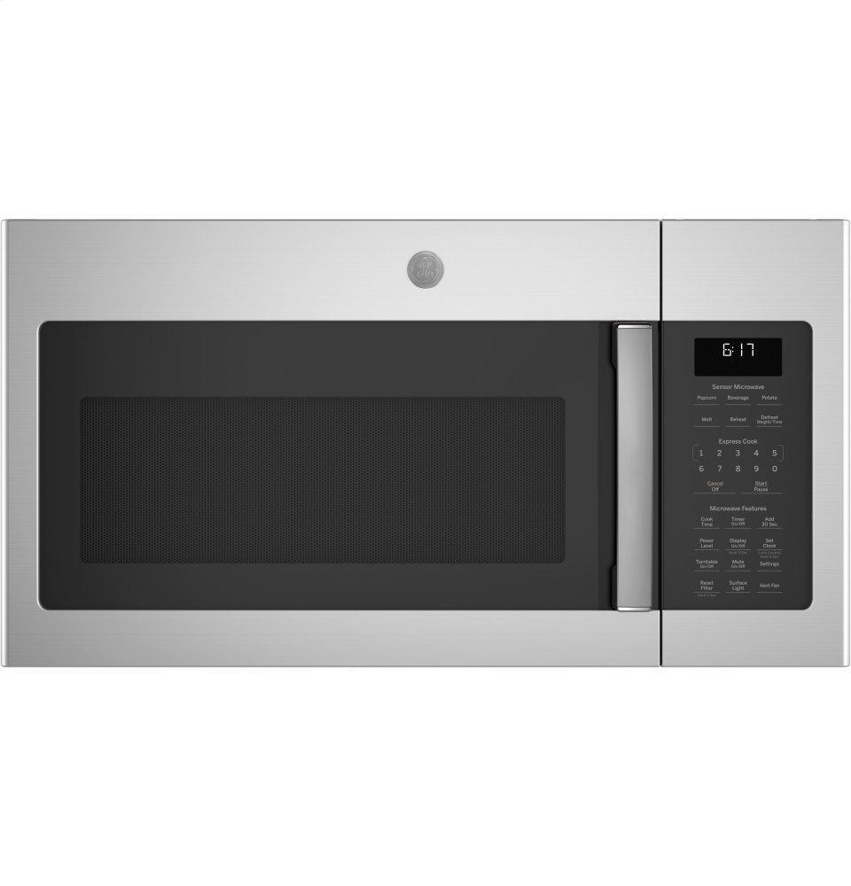 GE1.7 Cu. Ft. Over-The-Range Sensor Fingerprint Resistant Microwave Oven