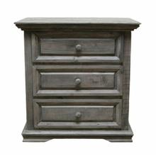 See Details - Charcoal Gray Coliseo Night Stand